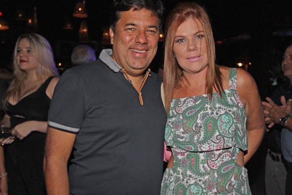Mendonça Filho e Taciana. Crédito: Roberto Ramos / DP