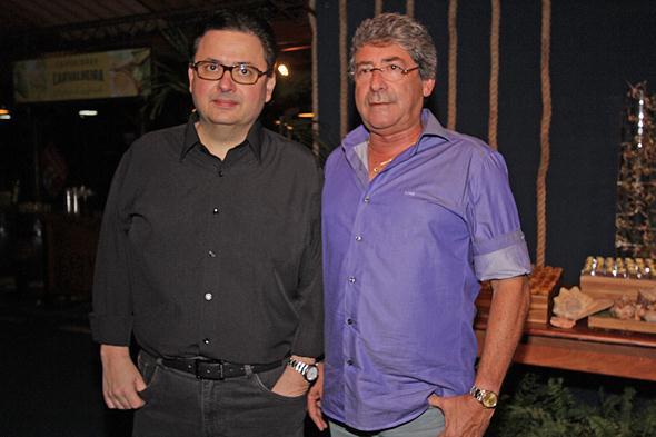 Antonio Campos e Jairo Lima. Crédito: Roberto Ramos / DP