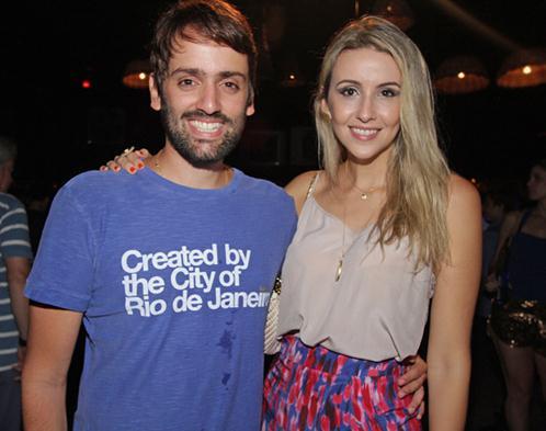 Jorge Peixoto e Bruna Monteiro. Crédito: Roberto Ramos / DP