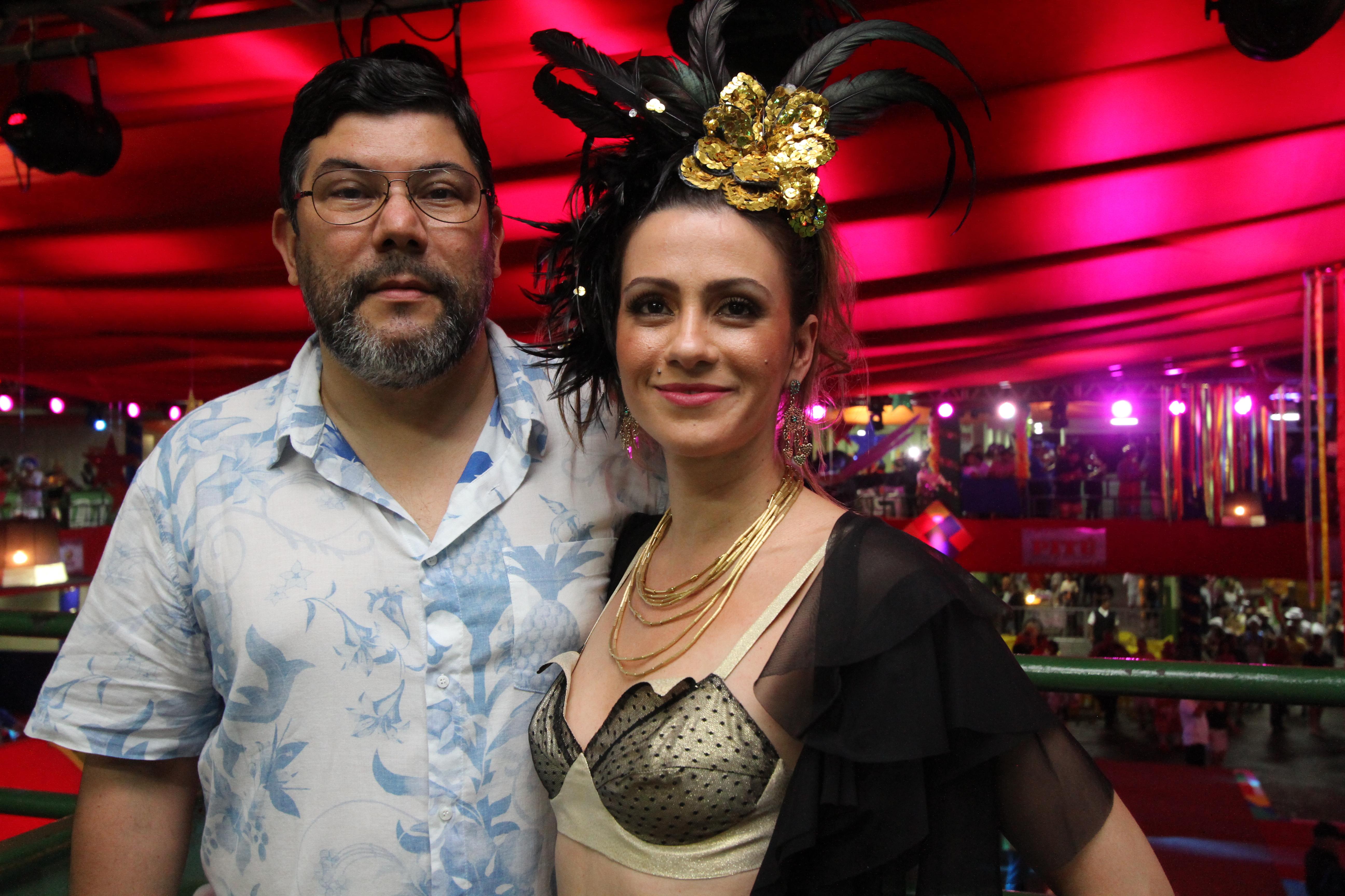 Alirio Moraes e Fernanda - Crédito: Nando Chiappetta/DP