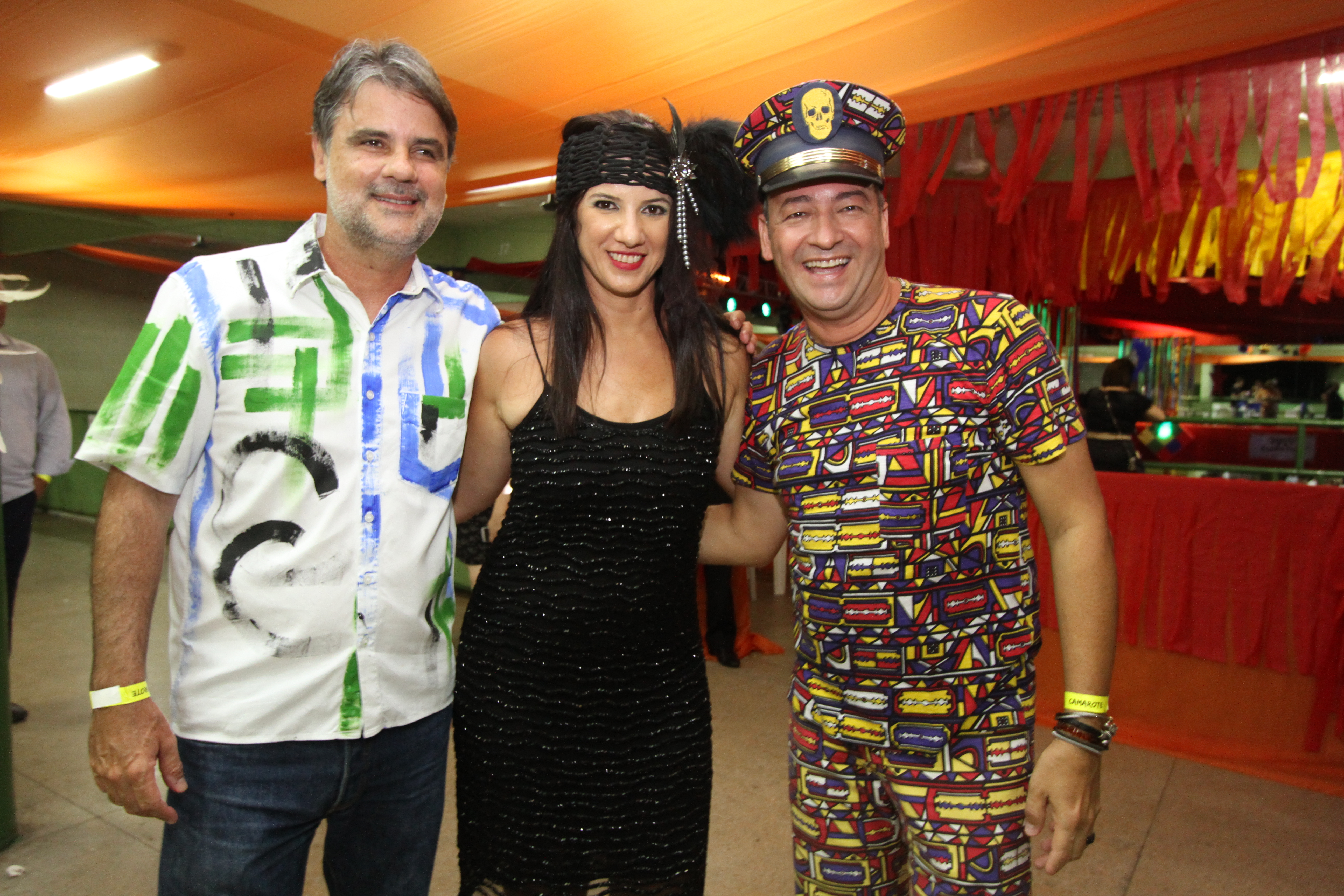 Raul Henry, Luiza Nogueira e Cesar Santos - Crédito: Nando Chiappetta/DP