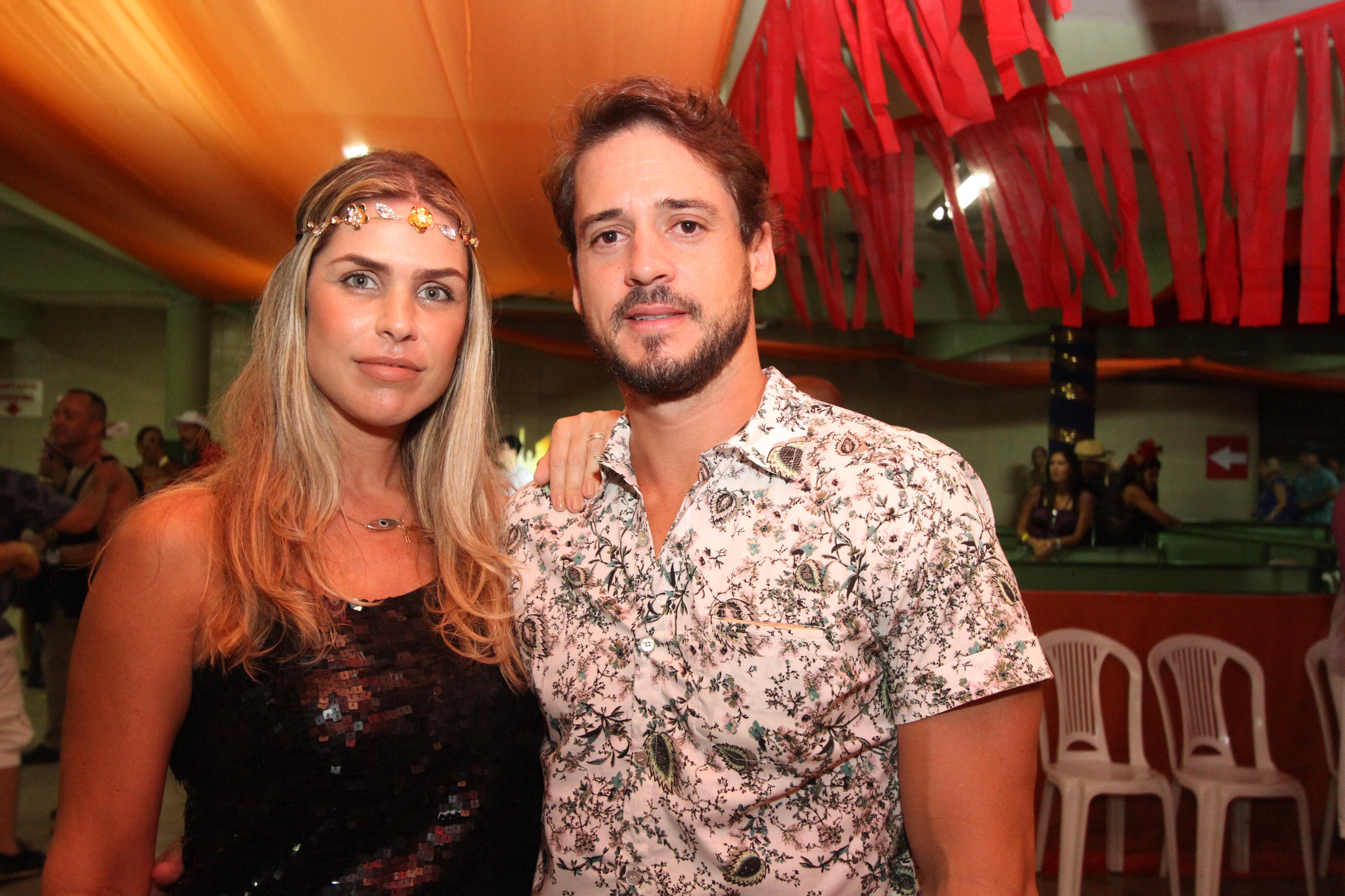 Dani Ribeiro e Guilherme Menezes - Crédito: Nando Chiappetta/DP