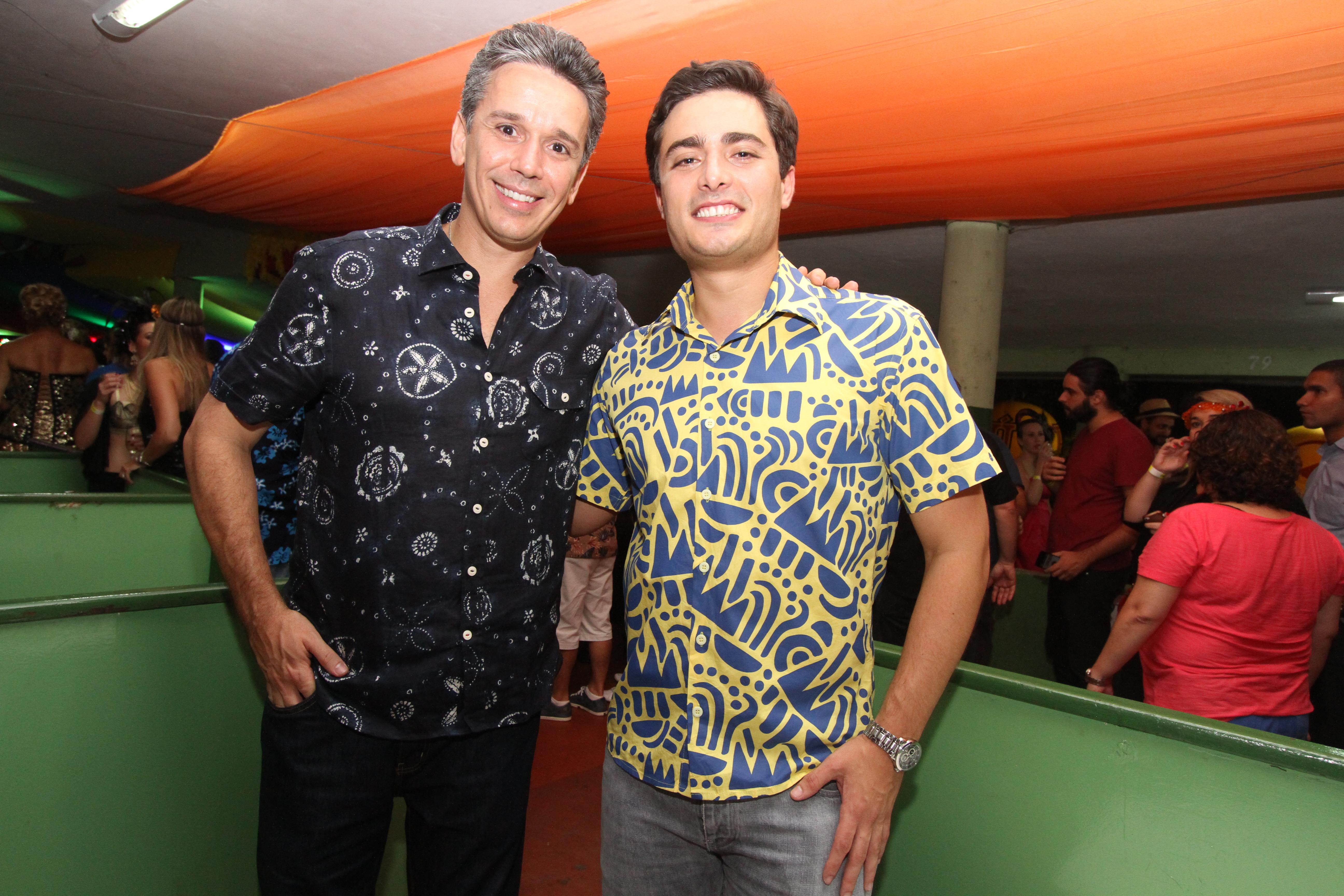 Felipe Carreras e Camilo Simões - Crédito: Nando Chiappetta/DP