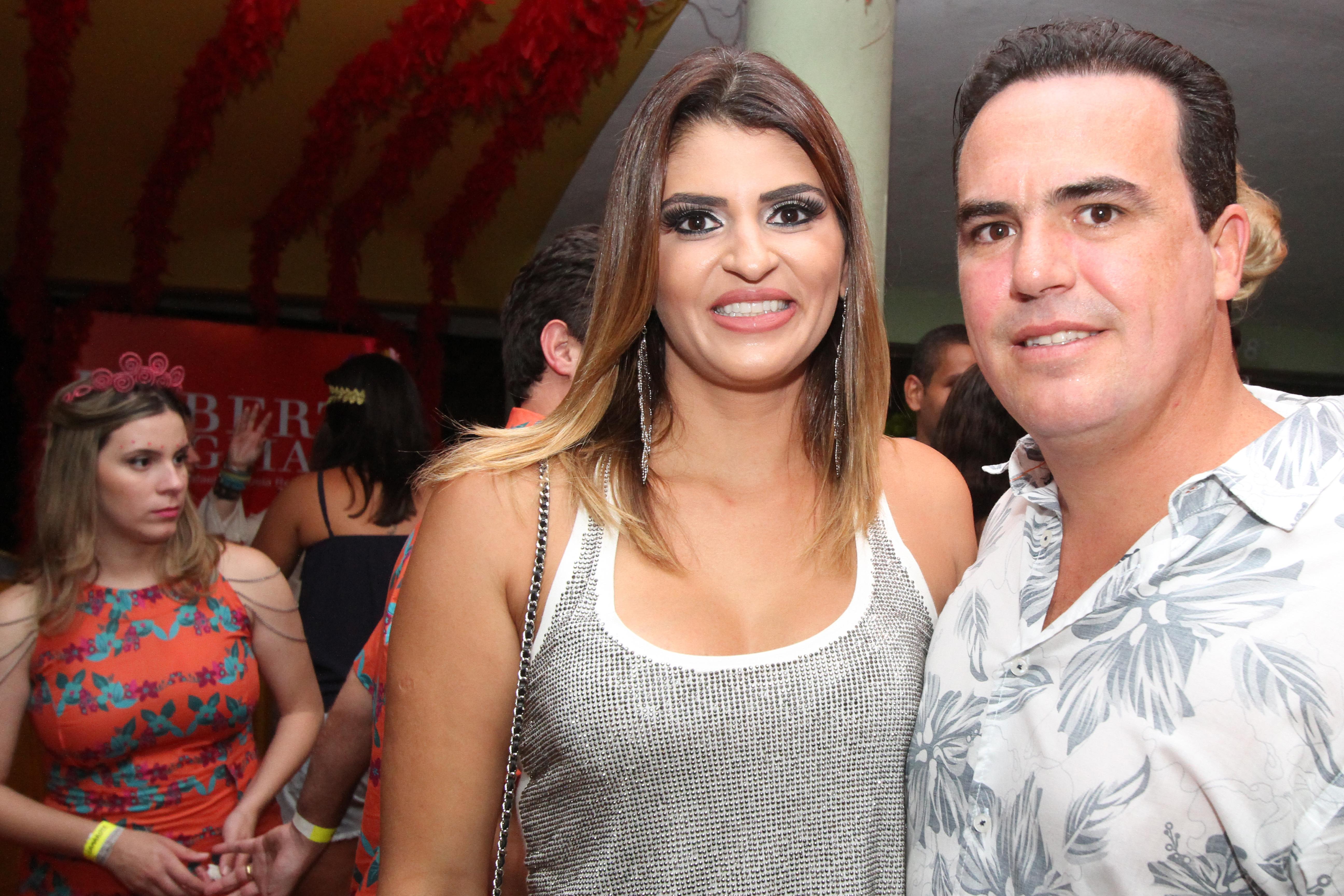 Erika Amorim e João Fernando Coutinho - Crédito: Nando Chiappetta/DP