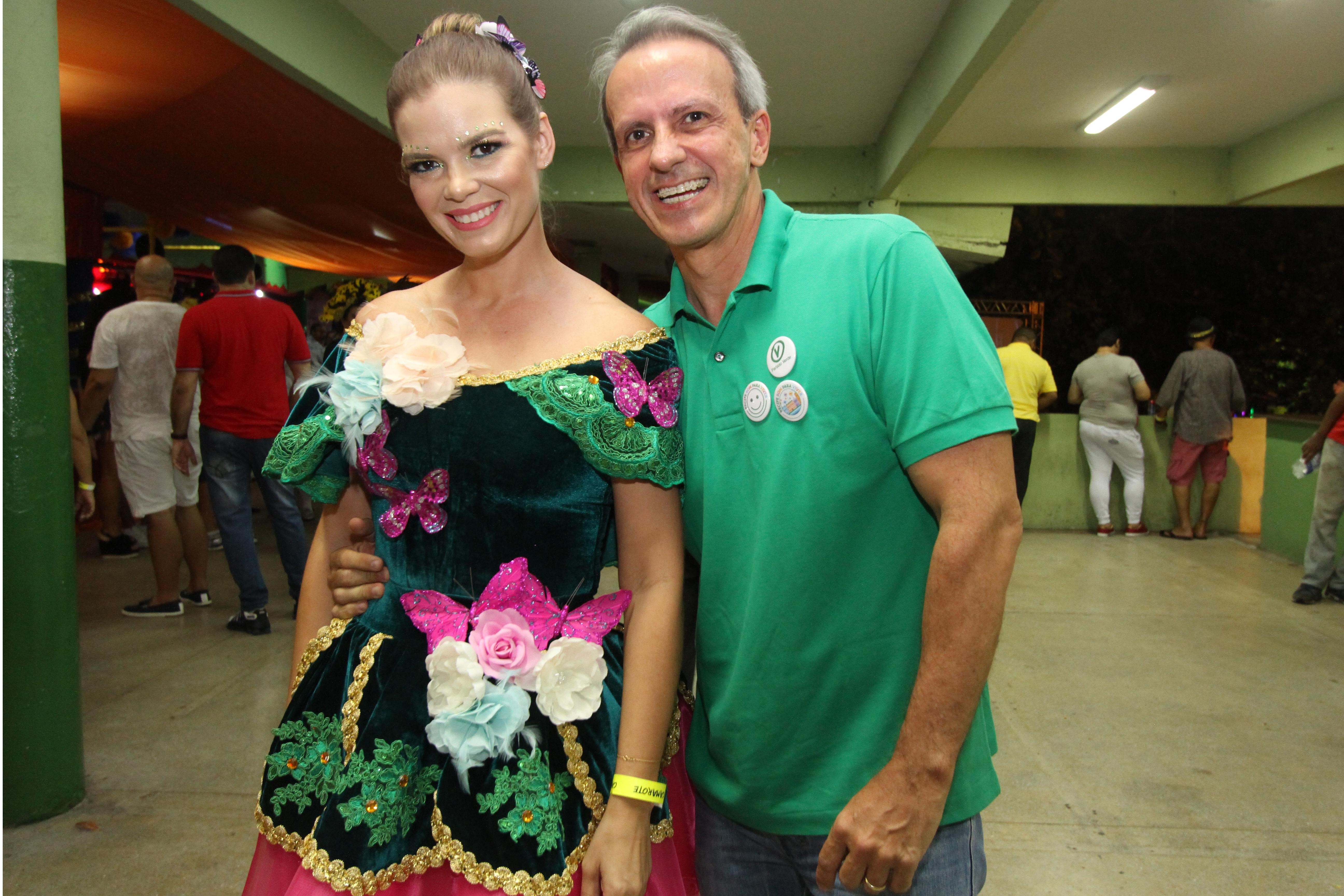 Juliana Lins e Carlos Augusto Costa - Crédito: Nando Chiappetta/DP