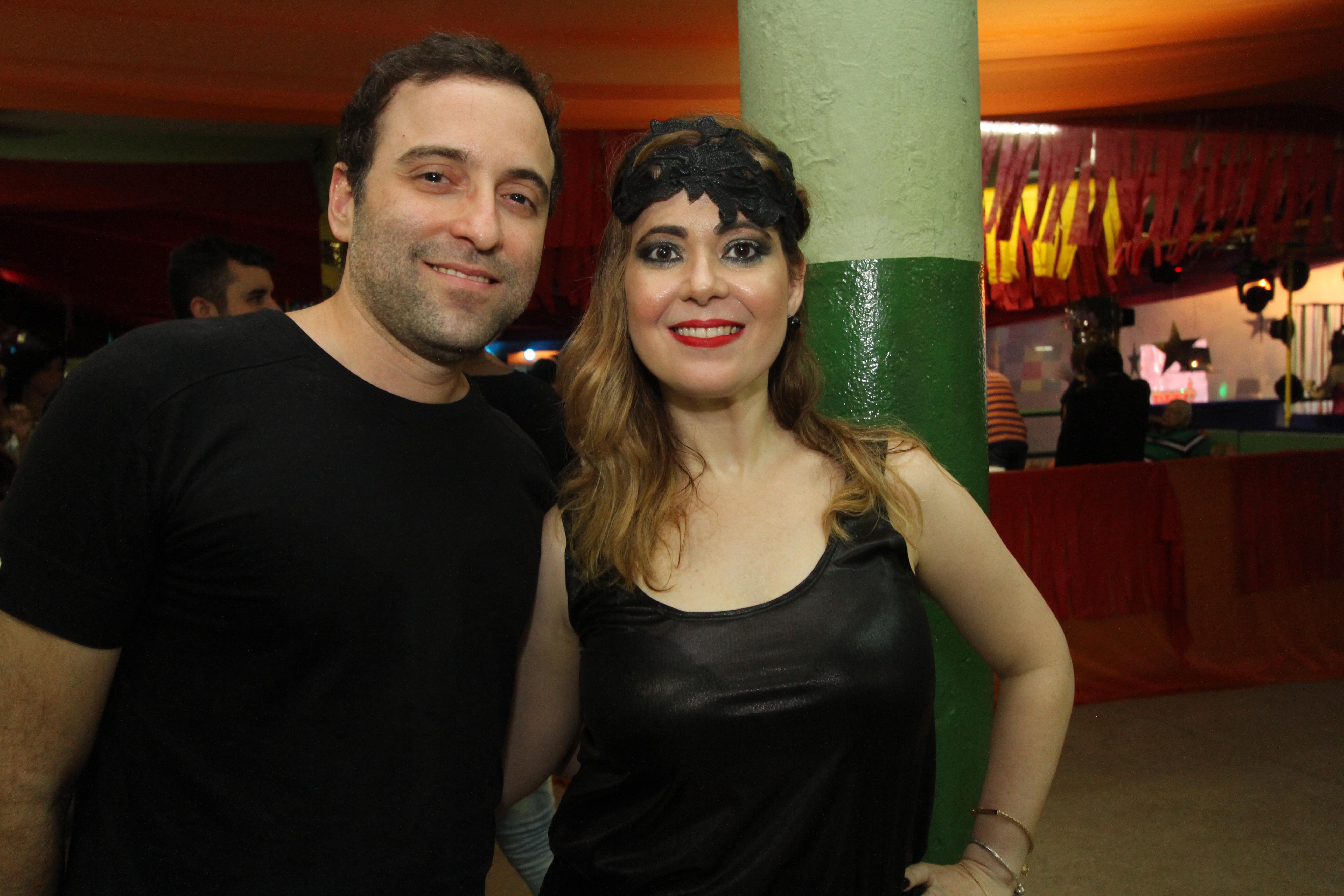 Eduardo Salazar e Flavia Azevedo - Crédito: Nando Chiappetta/DP