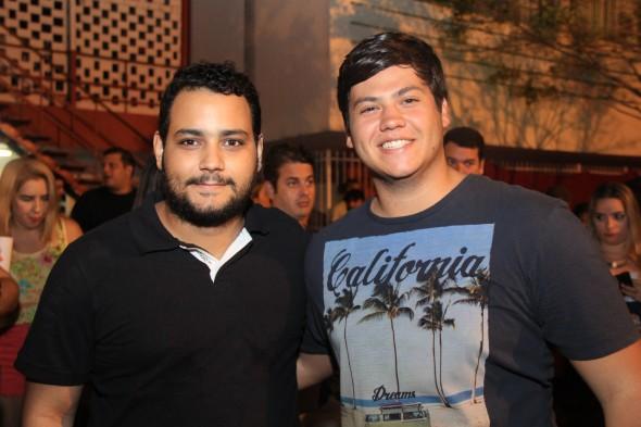 Bruno e Djailton Menezes - Crédito: Luiz Fabiano/Divulgação