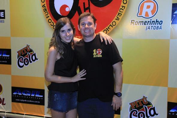 Guilherme Agra e Gabriela Morais - Crédito: Luiz Fabiano/Divulgação