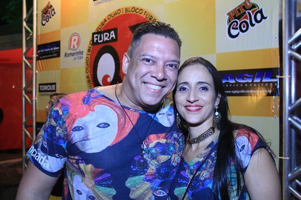 Nono Germano e Daniela Freire - Crédito: Luiz Fabiano/Divulgação