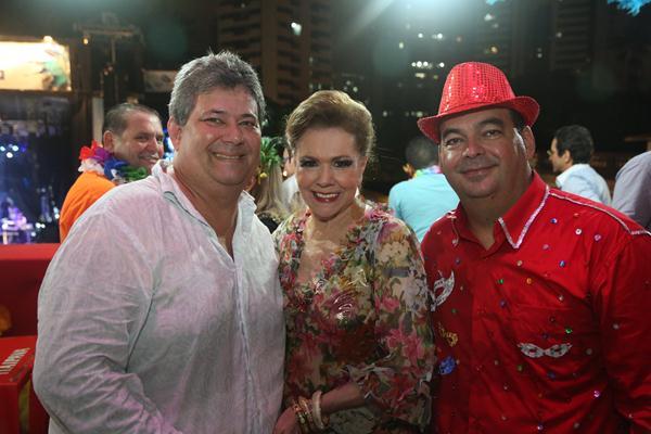 Marinho Perez, Joseli Lacerda e Jorge Luis Gil Rodrigues - Crédito: Hesíodo Goes/Esp. DP