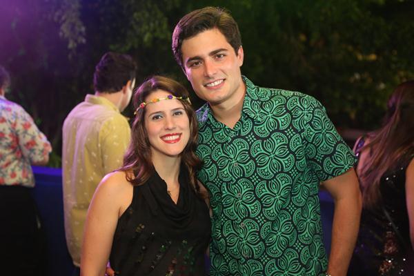 Rebeca e Camilo Simões - Crédito: Hesíodo Goes/Esp. DP