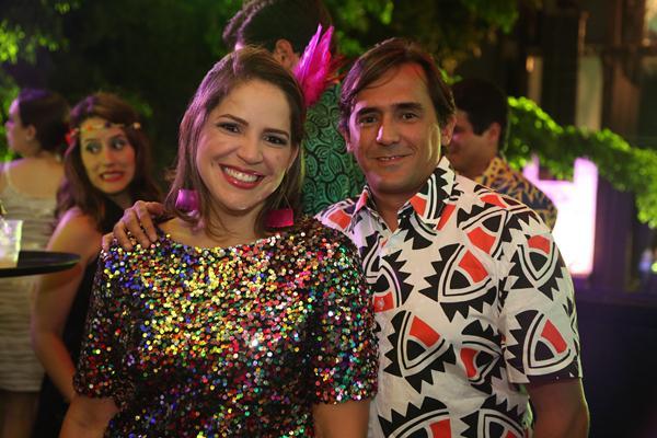 Roberta e Alexandre Gabriel - Crédito: Hesíodo Goes/Esp. DP