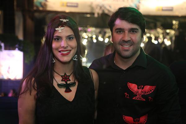 Gabriela Moura e João Suassuna - Crédito: Hesíodo Goes/Esp. DP