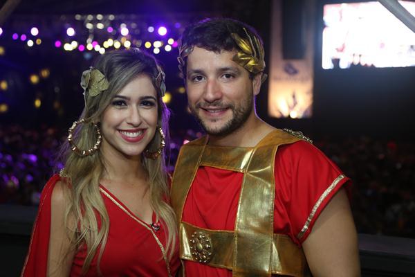 Dany Khadydja e Filipe Regueira - Crédito: Hesíodo Goes/Esp. DP