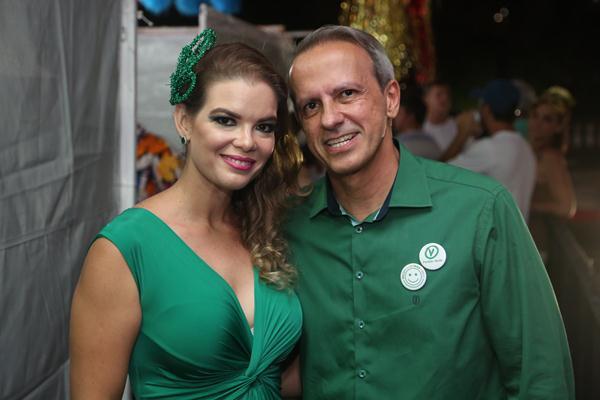 Juliana Lins e Carlos Augusto Costa - Crédito: Hesíodo Goes/Esp. DP