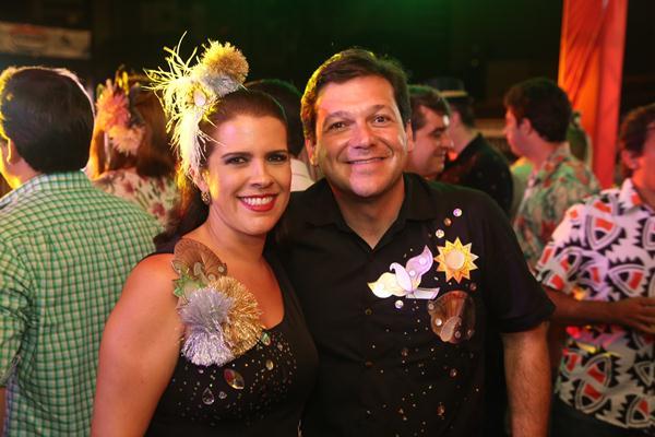 Cristina Mello e Geraldo Julio - Crédito: Hesíodo Goes/Esp. DP