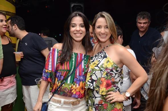 Cacau Acioli e Dayanna Ximenez - Crédito: Luiz Fabiano/Divulgação