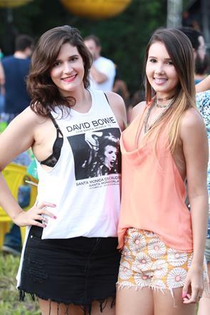 Angelica Freire e Thays Lyra - Crédito: Costa Neto/Divulgação