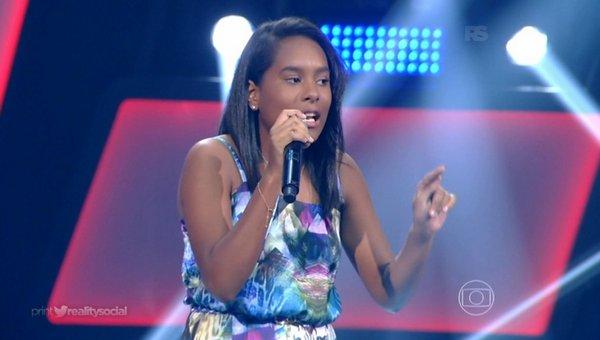 Bela Maria, de 14 anos, é de Paulista - Crédito: Reprodução/Twitter