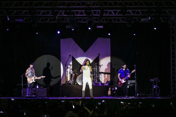 Magic! no Recife - Crédito: Charles Johnson/Divulgação