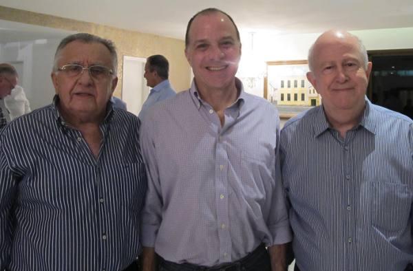 Joao Carlos Paes Mendonça, Richard Reiter e Albano Franco