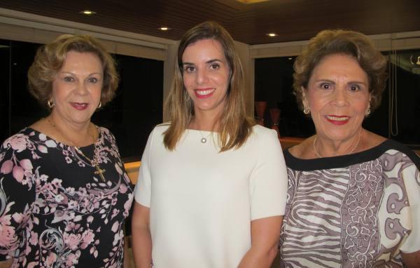 Auxiliadora Paes Mendonça, Mirella Martins e Geralda Farias
