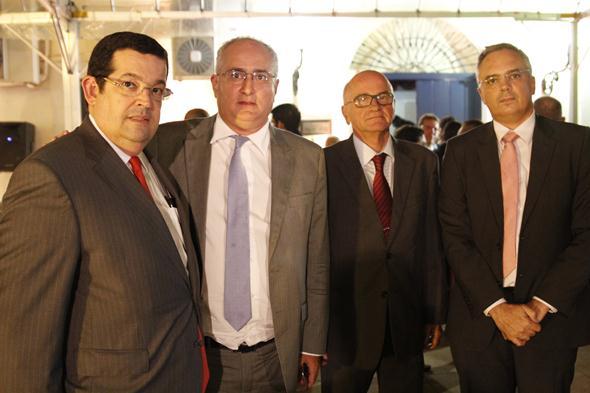 Júlio Oliveira, Edmilson Nobre, Alexandre Luna e Manoel Maia. Crédito: Ricardo Fernandes / DP