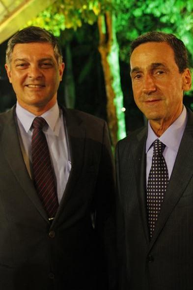 Cid Marconi e Francisco Falcão. Crédito: Ricardo Fernandes / DP