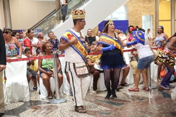 O Rei e Rainha do Carnaval da Pessoa Idosa foram conhecidos ontem - Crédito: Allan Torres/PCR/Divulgação