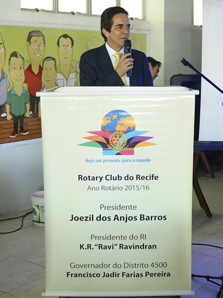 Maurício Rands falou sobre o futuro do Diario nos próximos 190 anos. Crédito: João Velozo / DP