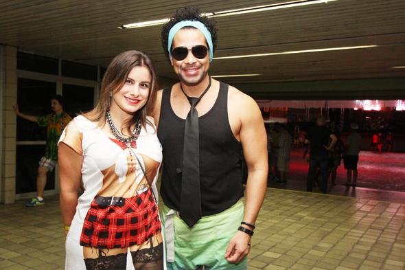 Lorena e Cezzinha - Credito: Nando Chiappetta/DP - BLOG JA