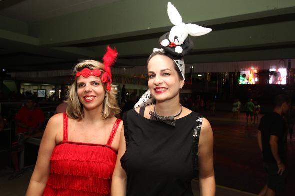 Monica Rodrigues e Tita Barretto - Crédito: Nando Chiappetta/DP - BLOG JA