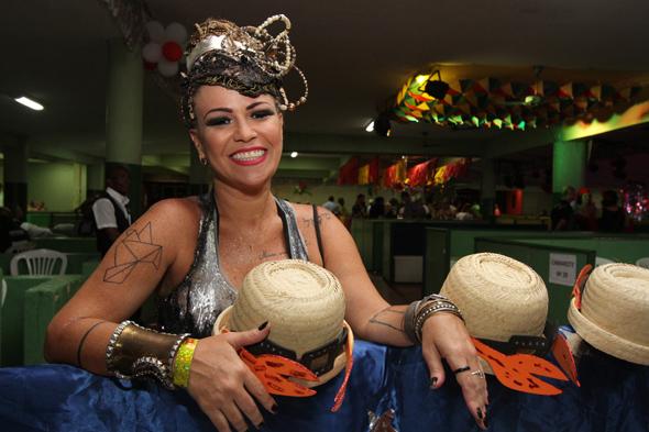 Tici Pacheco - Credito: Nando Chiappetta/DP - BLOG JA - Baile do Siri Nata, no Clube Portugues com show de Nacao Zumbi.na foto -