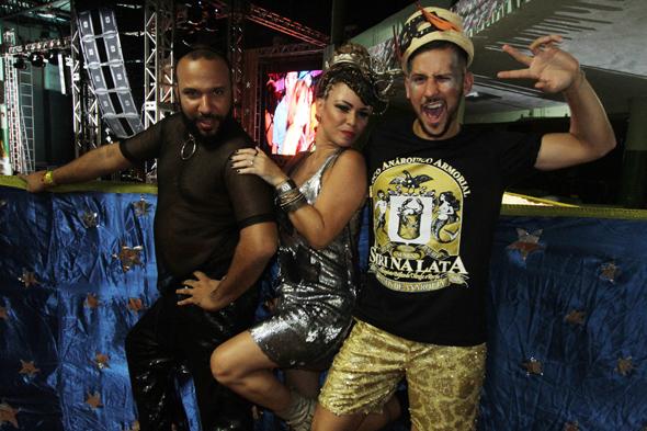 Ander Oliveira, Tici Pacheco e Caio Braz - Crédito: Nando Chiappetta/DP - BLOG JA
