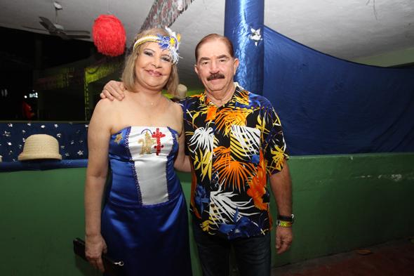 Terezinha Nunes e Dagoberto Costa - Credito: Nando Chiappetta/DP - BLOG JA
