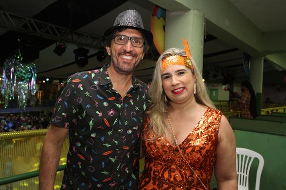 André Valença e Lele Carvalho - Crédito: Nando Chiappetta/DP - BLOG JA