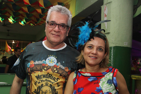 Alexandre Ferrer e Veronica - Crédito: Nando Chiappetta/DP - BLOG JA
