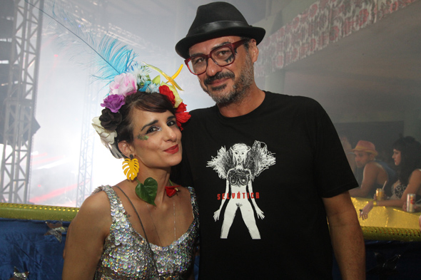 Barbara Cunha e Paulo Caldas - Crédito: Nando Chiappetta/DP - BLOG JA