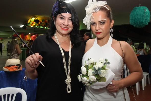 Leila Maykinch e Mariana Pahl - Credito: Nando Chiappetta/DP - BLOG JA
