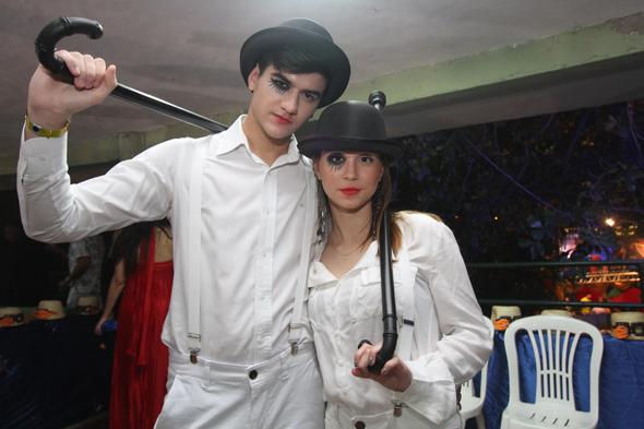 Victor D'Errico e Stephanie Dijck - Crédito: Nando Chiappetta/DP - BLOG JA