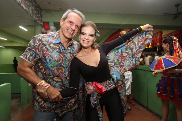 Carlos Augusto Costa e Juliana Lins - Crédito: Nando Chiappetta/DP - BLOG JA