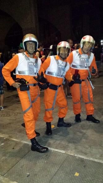 Eudes, Paulo e Magno foram de pilotos de Star Wars - Crédito: Julia Schiaffarino