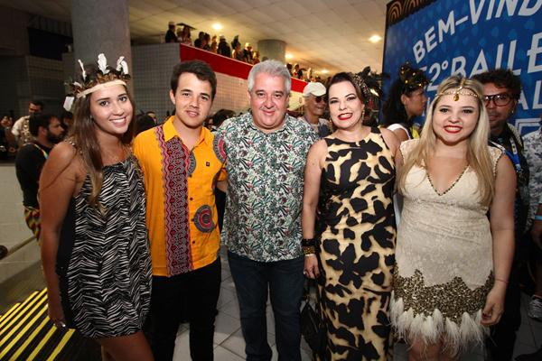 Rodrigo Coutinho, Augusto Coutinho, Isabela e Gabriela Coutinho - Crédito: Paulo Paiva/DP