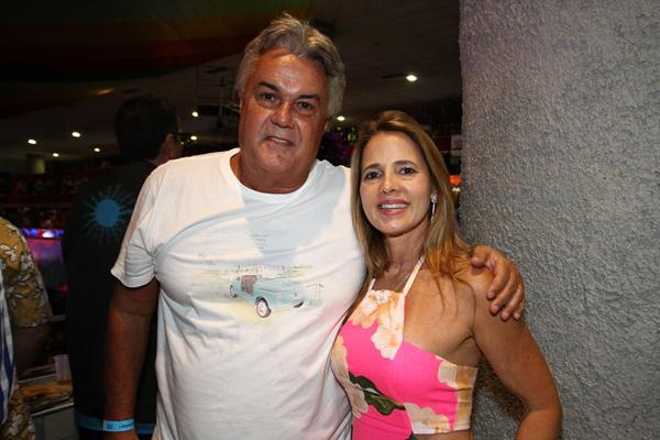 André e Virginia Campos - Crédito: Paulo Paiva/DP