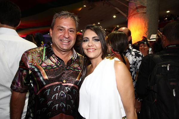 Sileno Guedes e Maria Eduarda - Crédito: Paulo Paiva/DP