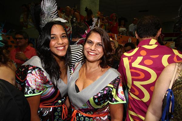 Marina e Mônica Silveira - Crédito: Paulo Paiva/DP
