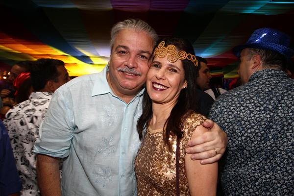 Antônio Figueira e Adriana - Crédito: Paulo Paiva/DP