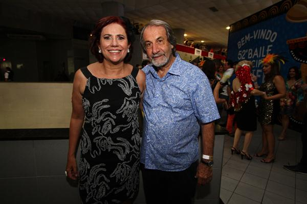 Berenice e Cadoca Pereira - Crédito: Paulo Paiva/DP