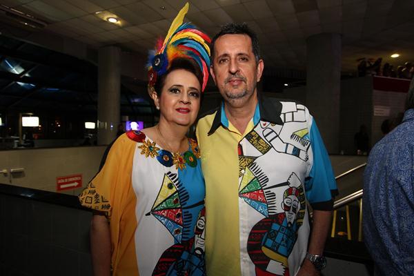 Roberta e Marcelo Canuto - Crédito: Paulo Paiva/DP