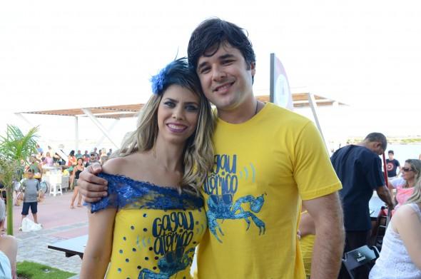 Carol Martorano e Danilo Raposo Crédito: Roberta Pontual/Comunnik/Divulgação